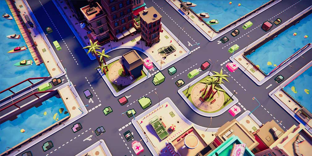 Keep the traffic flowing in Urban Flow, new on Nintendo Switch