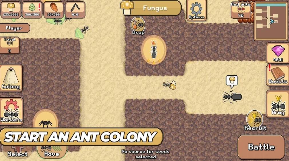 Pocket Ants: Colony Simulator