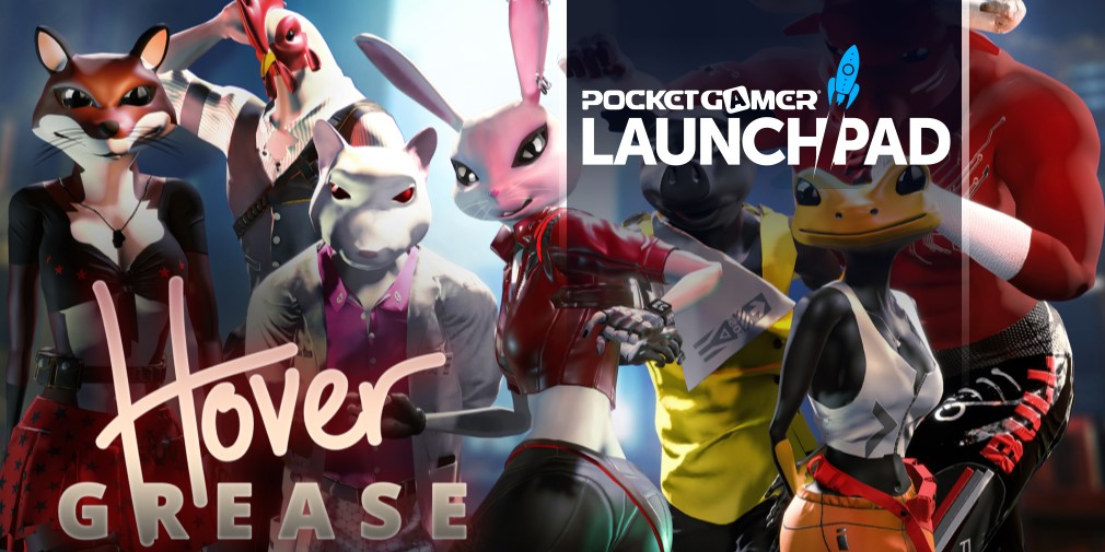 Team-based, twin-stick mutant shooter Hovergrease announced for mobile and more, Kickstarter coming soon