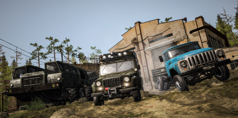 Off-roading driving game MudRunner Mobile gets new DLC