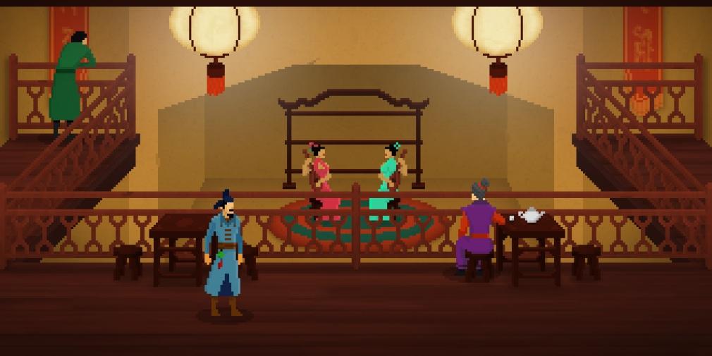 Detective Di vous fait enquêter au cœur de la Chine impériale, disponible maintenant sur iOS