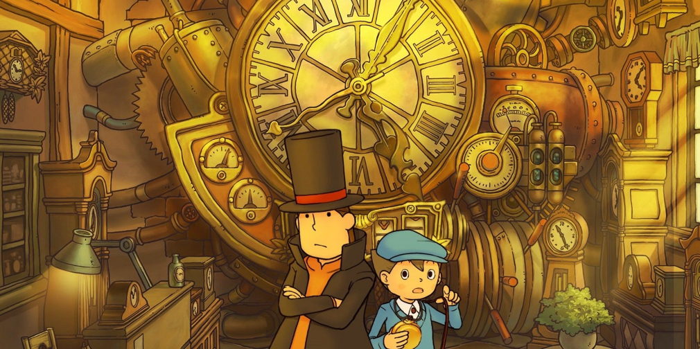 Professor Layton and the Unwound Future lands on mobile alongside a discounted Layton trilogy bundle