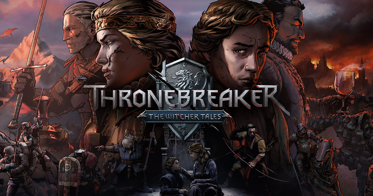 Thronebreaker: The Witcher Tales débarque à l'improviste sur iOS, disponible maintenant