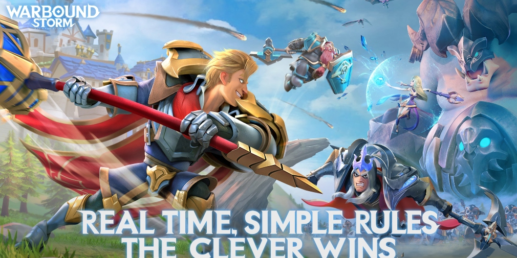 Warbound Storm is a fast-paced strategy game from NetEase that's available now for Android in select regions
