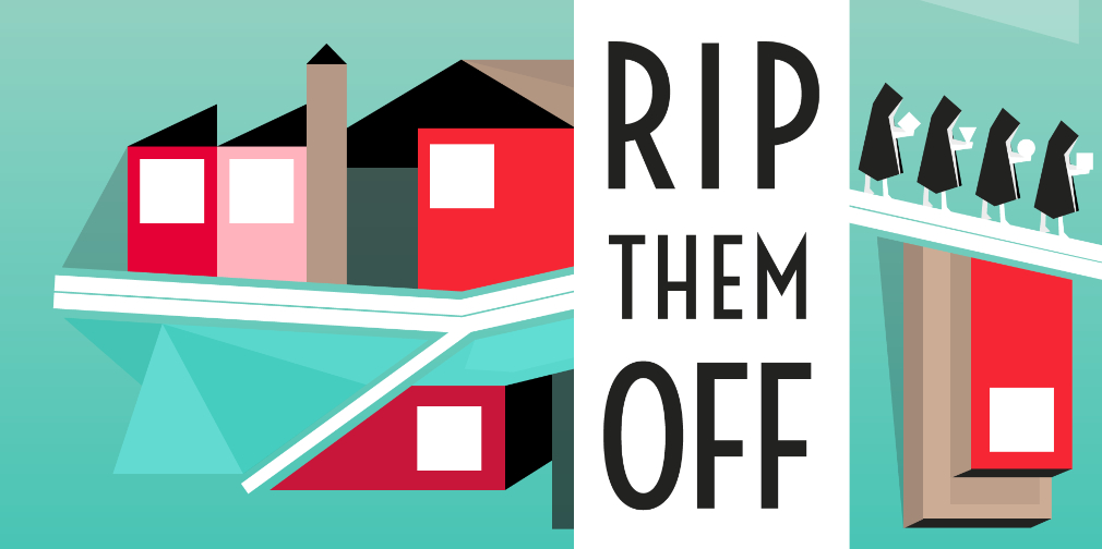 Rip Them Off is a tower-defense puzzler about capitalism, and it's now out on iOS
