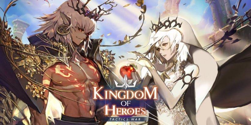 Kingdom of Heroes: Tactics War receives one of its biggest updates yet
