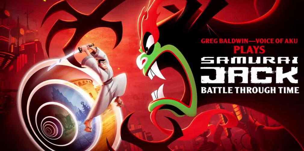 Here's Aku playing Samurai Jack: Battle Through Time