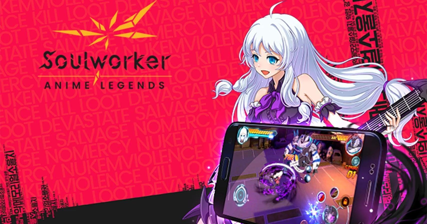 SoulWorker Anime Legends est de sortie sur iOS et Android