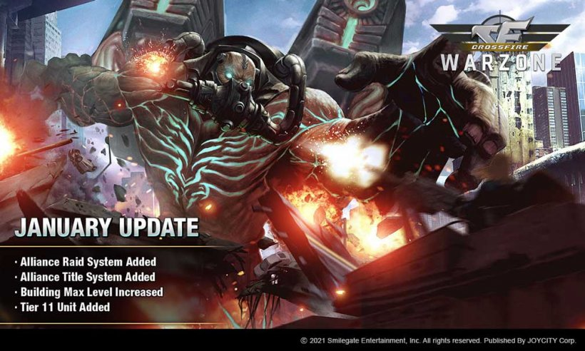 CROSSFIRE: Warzone has received new Alliance Raid and Alliance Title systems