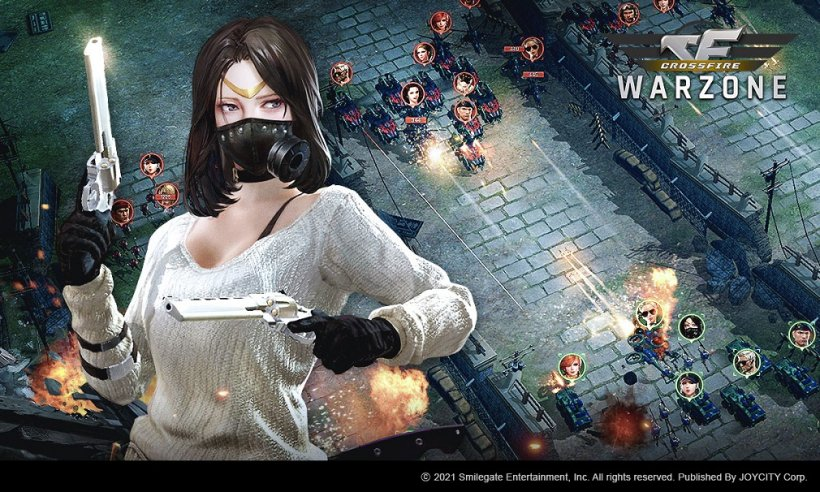 CROSSFIRE: Warzone launches cross-server PvP Arena and new character, Alice