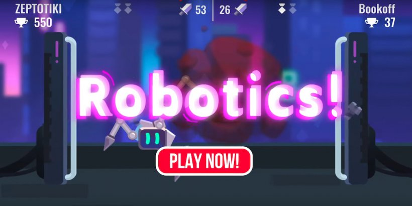 "Robotics! review - ""It's like Battlebots, but clumsy"""