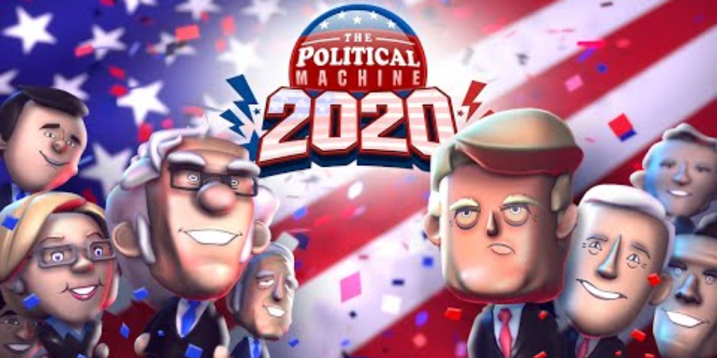 Run for president of the United States in The Political Machine 2020, available now for iOS & Android