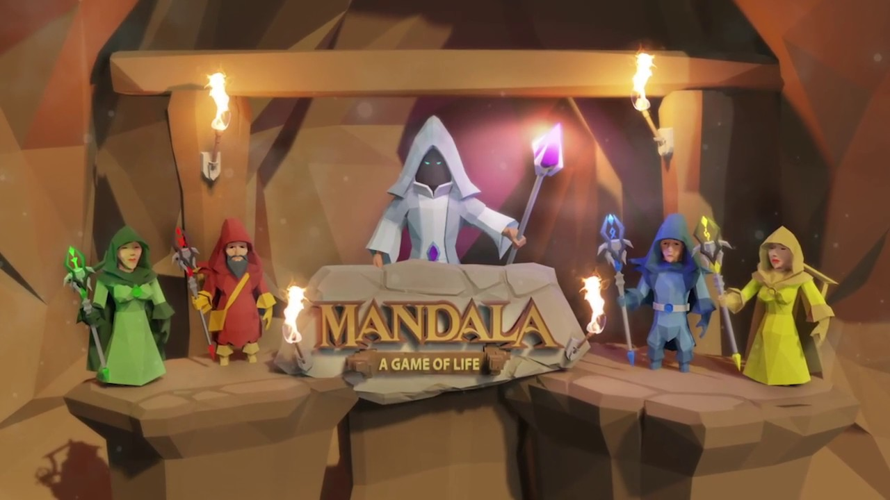 Mandala - The Game of Life is a modern remake of a classic board game, out now on iOS and Android