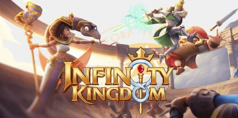 Infinity Kingdom is a cartoon-styled strategy game with multiple historical leaders, available now for iOS and Android