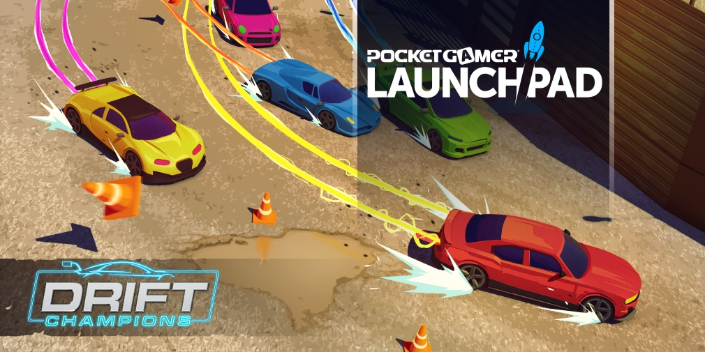 Drift Champions is a retro-inspired top-down racer for iOS and Android, pre-register on Google Play now