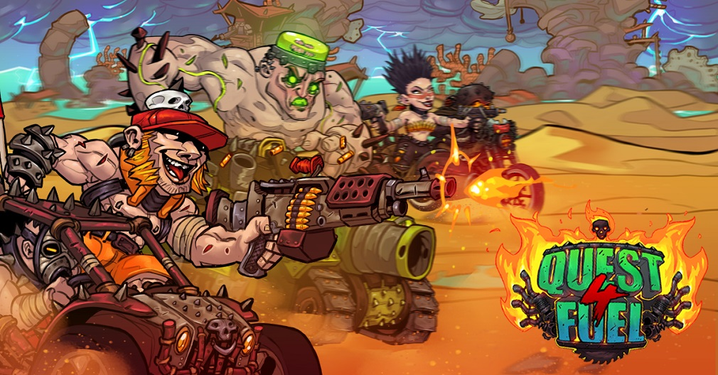 Quest 4 Fuel, the Mad-Max inspired idle RPG, is out now for mobile thumbnail