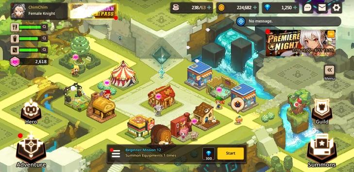 Обзор Guardian Tales - «Вихрь ностальгии в необычной ролевой игре»