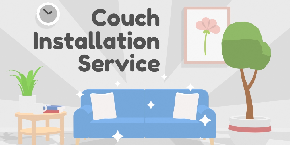 Couch Installation Service is a puzzler that's available now for Android about rearranging sofas