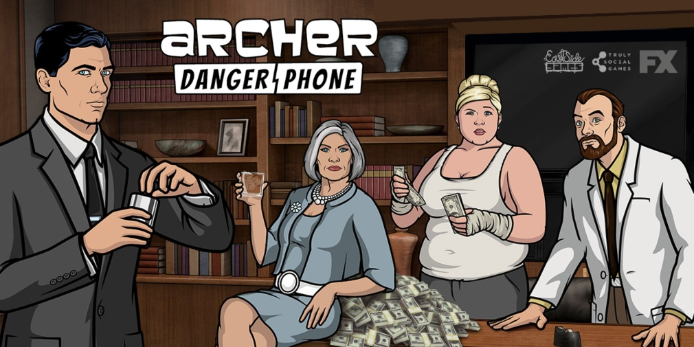 Archer: Danger Phone is a narrative-driven idle game for iOS and Android based on the popular TV series
