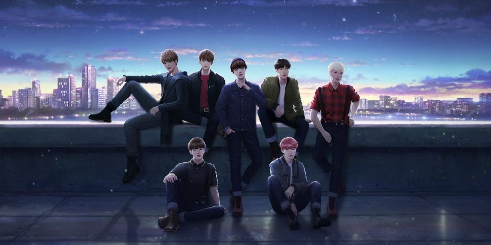 BTS Universe Story will allow fans to create their own stories about the group when it launches for iOS and Android