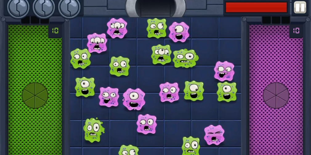 Outbreak Chamber is a fast-paced sorting action game for Android about containing colourful germs