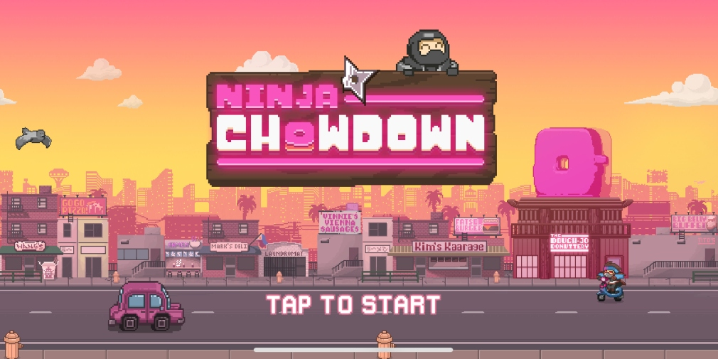 Ninja Chowdown is an upcoming runner for iOS that's all about food and ninjas