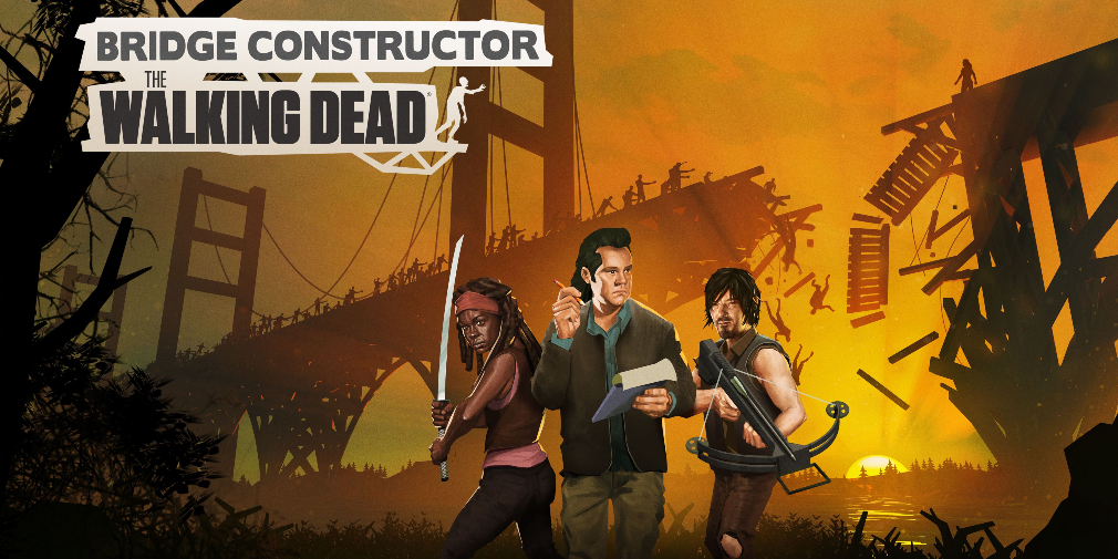 Bridge Constructor : The Walking Dead s'annonce sur iOS, Android et Switch