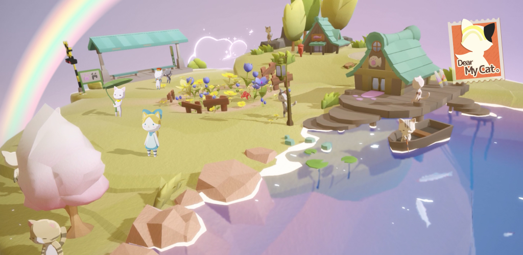 Dear My Cat is a relaxing virtual pet sim, out now for iOS and Android