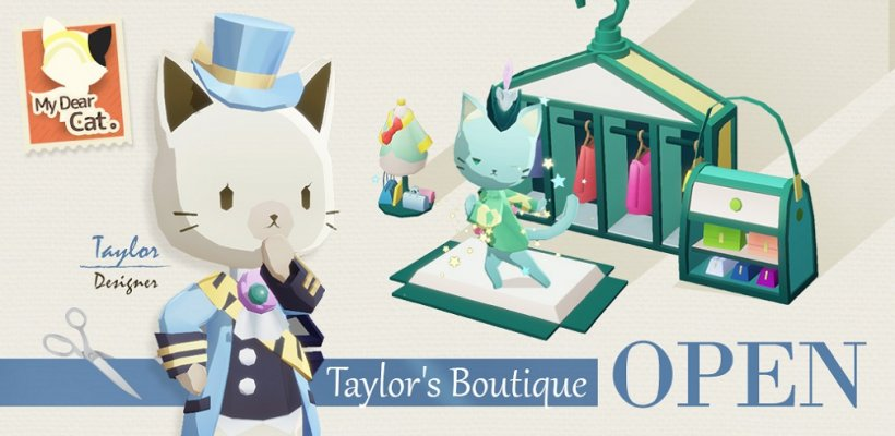 Dear My Cat brings new feline companions and outfits with its May update