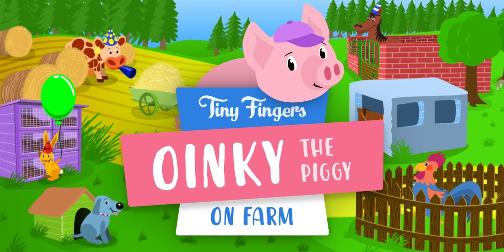 Oinky the Piggy: On Farm is a memory training game for youngsters, out now on iOS