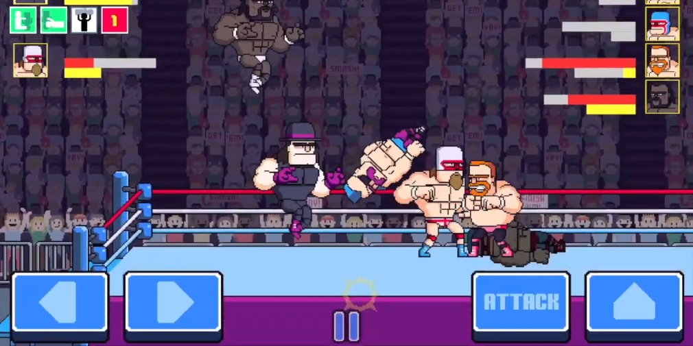 Rowdy City Wrestling is the latest entry into Colin Lane's arcade series which is heading for iOS this month