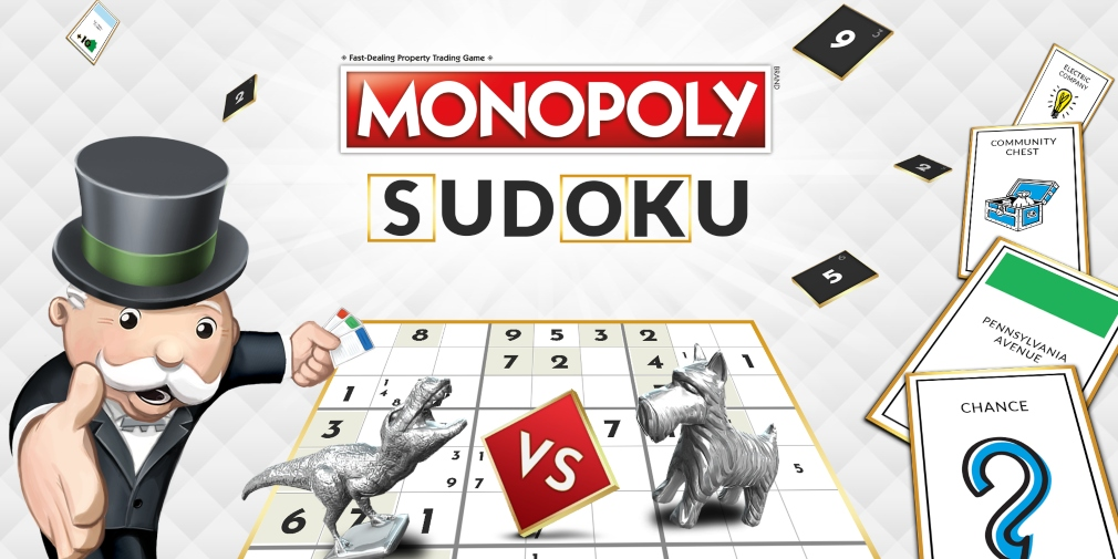 Monopoly Sudoku is an upcoming game for iOS and Android that mixes the number puzzler with the board game