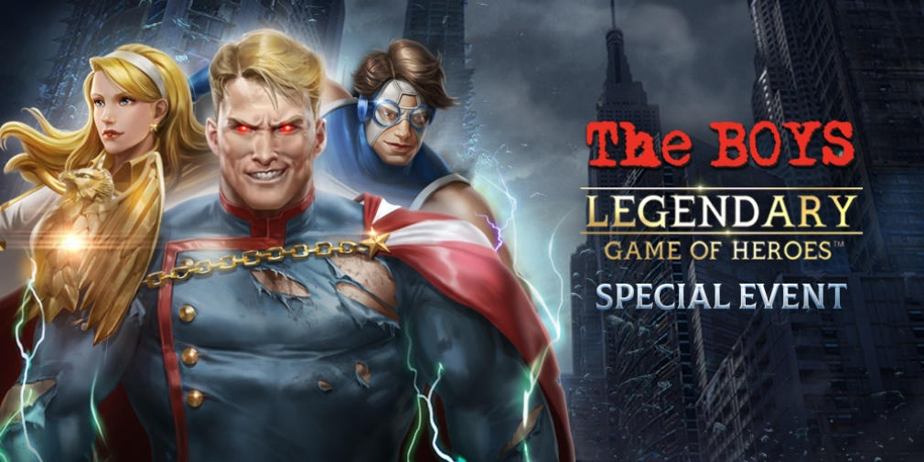 Legendary: Game of Heroes' latest event is a collaboration with Dynamite Entertainment's comic book series The Boys