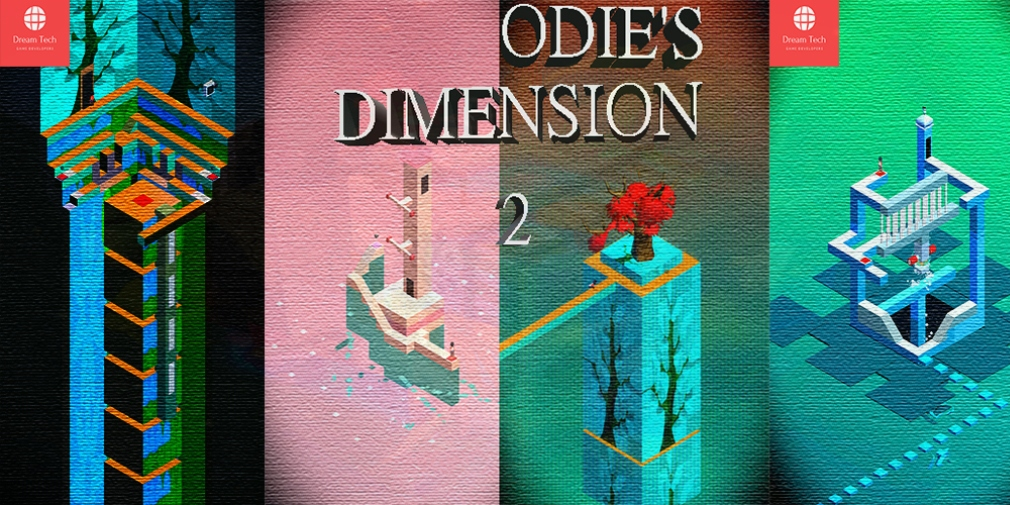 Odie's Dimension II is an isometric puzzler that's available now for Android which takes inspiration from Monument Valley