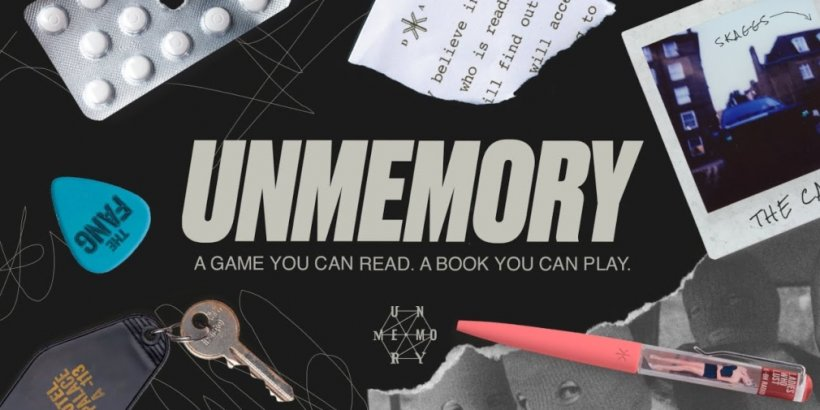 Mystery game Unmemory out now on iOS and Android