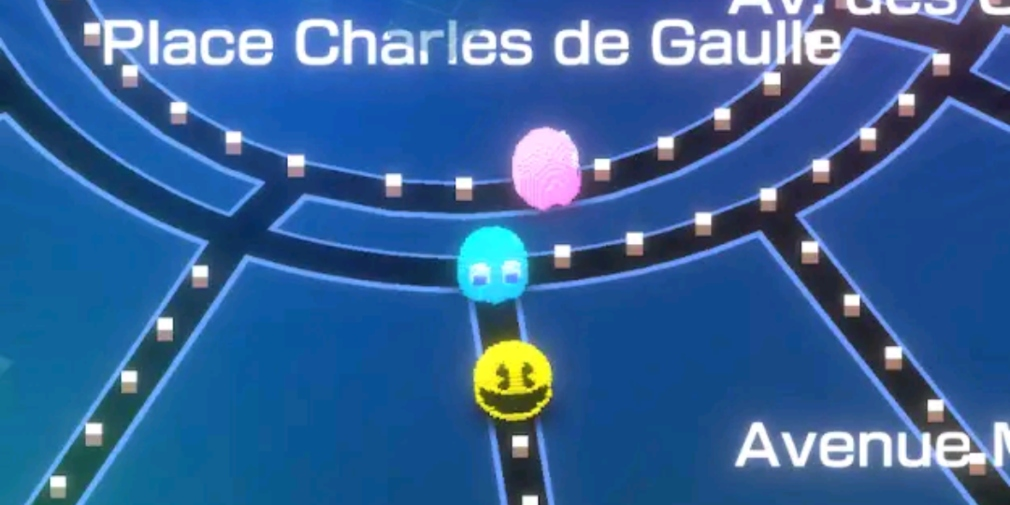 Pac-Man Geo will see players turning real-world maps into levels and it's available now for iOS and Android