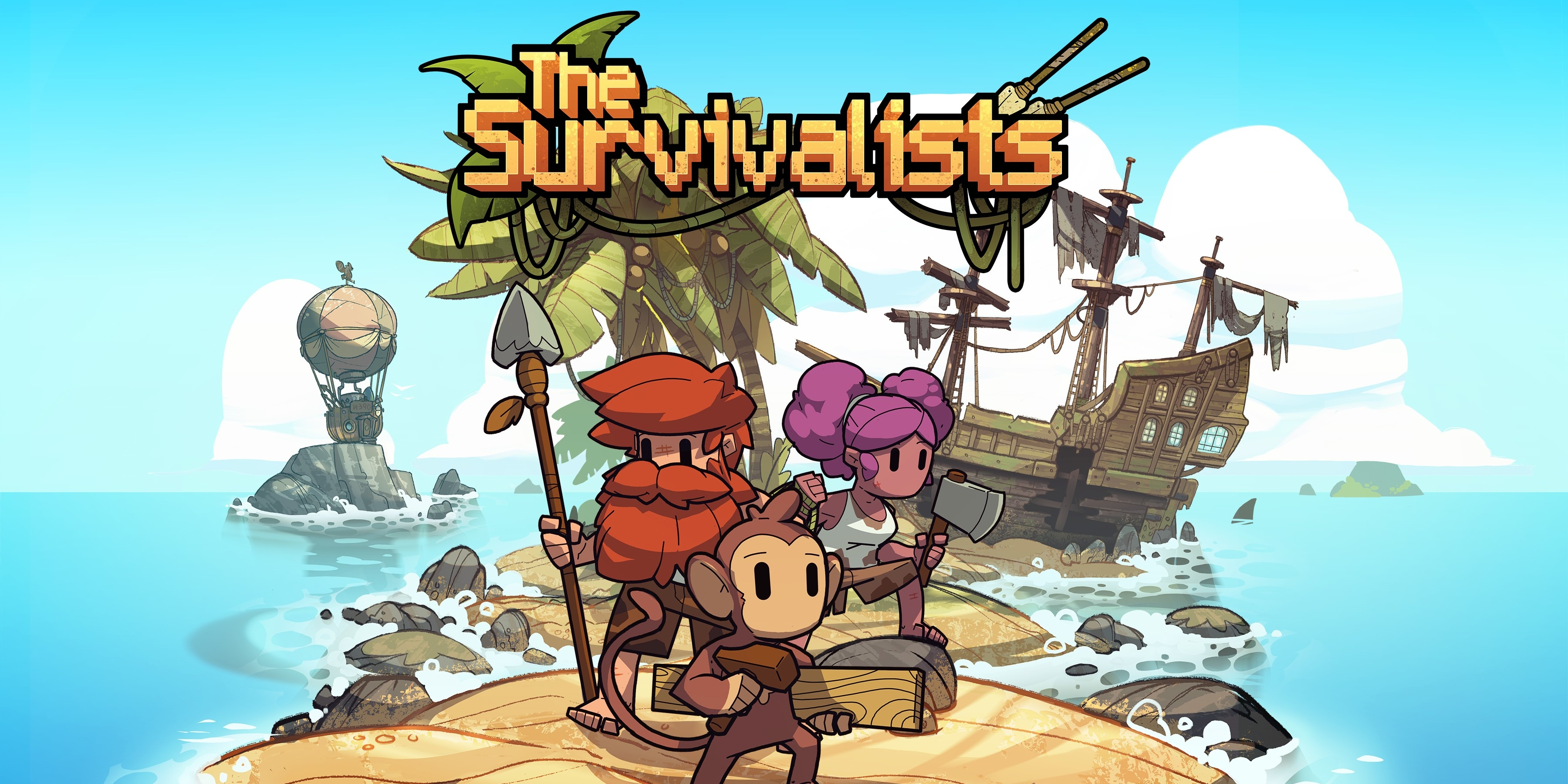 The Survivalists, Team17's upcoming co-op survival game, will also be heading for Apple Arcade later this year