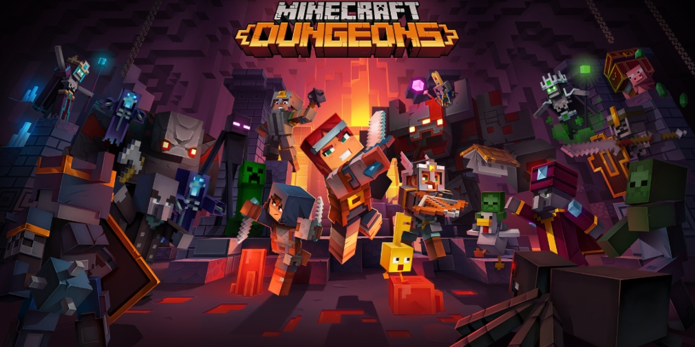 Minecraft Dungeons will have fully optimised touch controls when played on mobile with Xbox Game Pass Ultimate