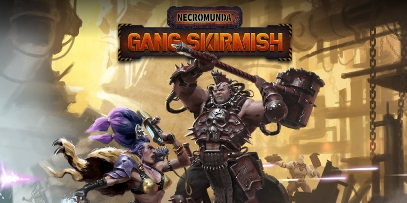 Necromunda: Gang Skirmish is a turn-based strategy based on the tabletop game out today on iOS and Android