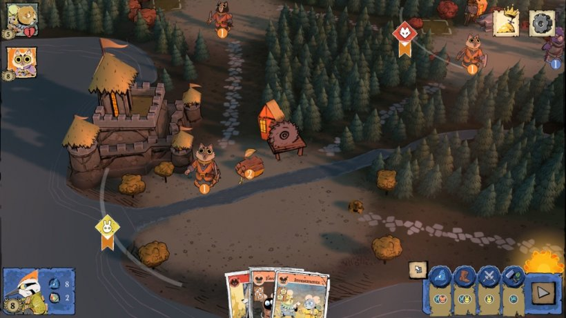 Root is an upcoming digital adaptation of the tabletop board game that's heading for iOS and Android this week