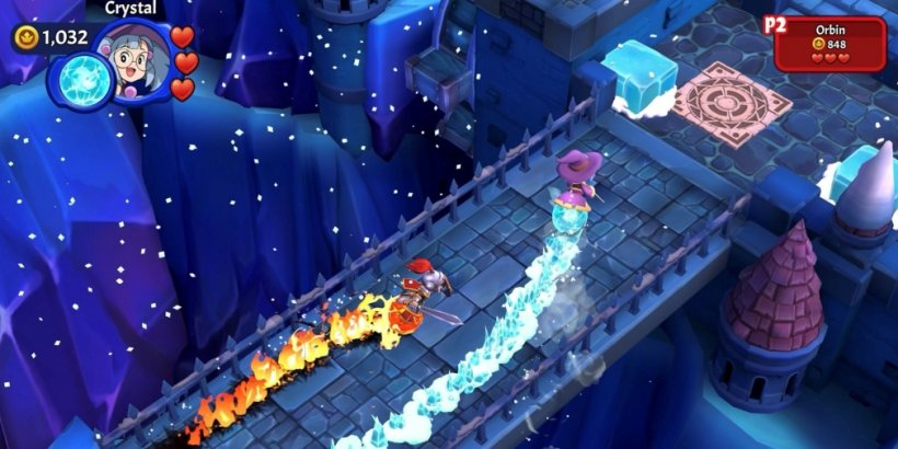 Marble Knights is a multiplayer, action-adventure game that's available now for Apple Arcade