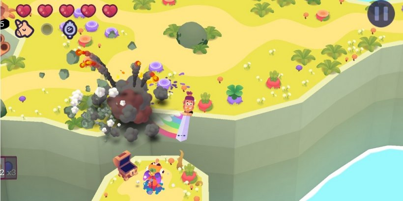Slash Quest, the action-adventure game from Big Green Pillow, is available now for Apple Arcade