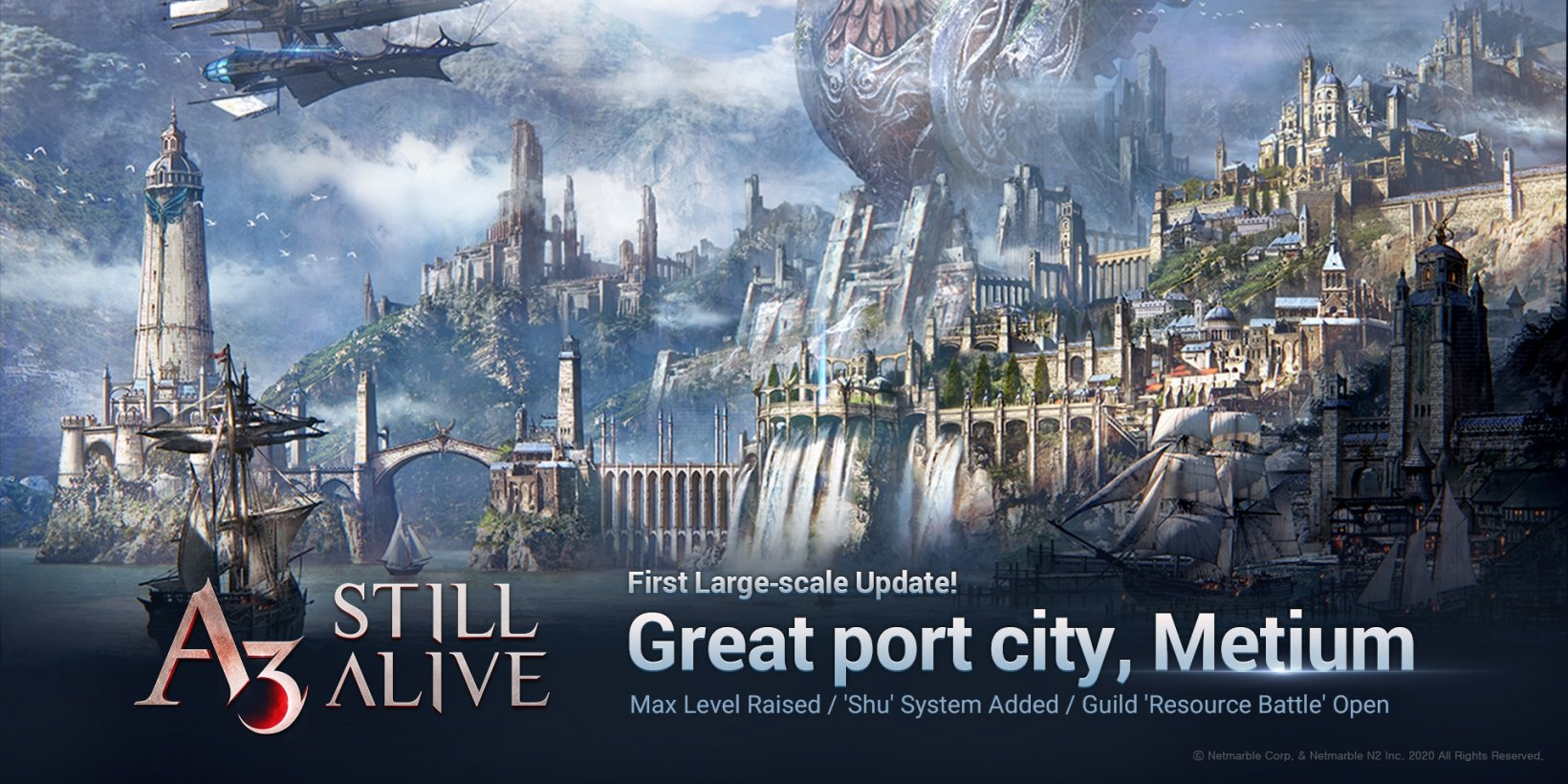 A3: Still Alive's first post-launch update introduces the port city of Metium