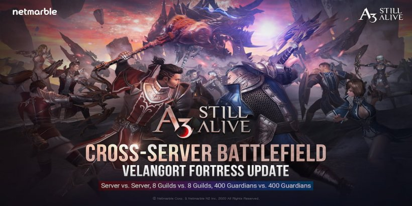 A3: Still Alive pushes a new update which features Cross-Server Battles and lots more