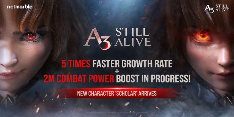 A3: Still Alive introduces a new Scholar Class in their latest update