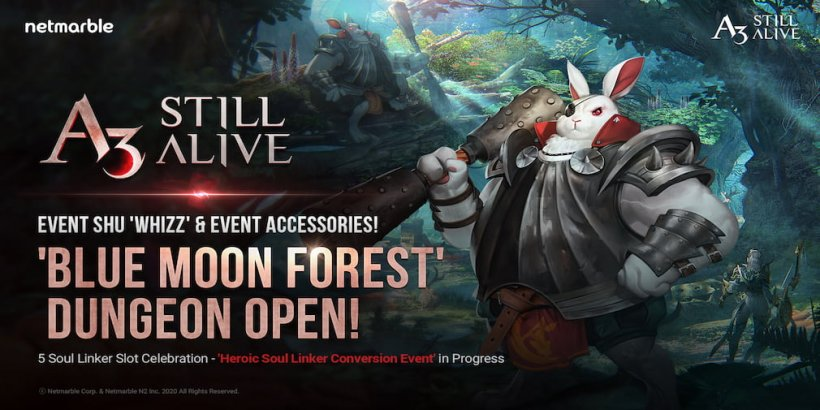 A3: Still Alive's new content update adds a limited-time dungeon and expands Soul Linker capabilities