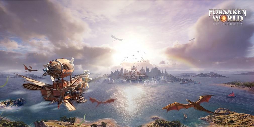 3D MMO Forsaken World: Gods and Demons out now on mobile