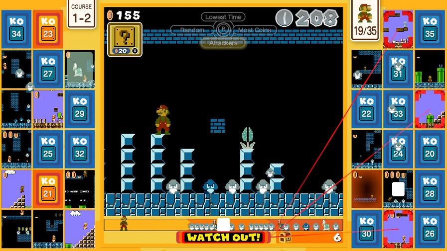 Королевская битва Super Mario Bros. 35 Battle Royale. Гайд
