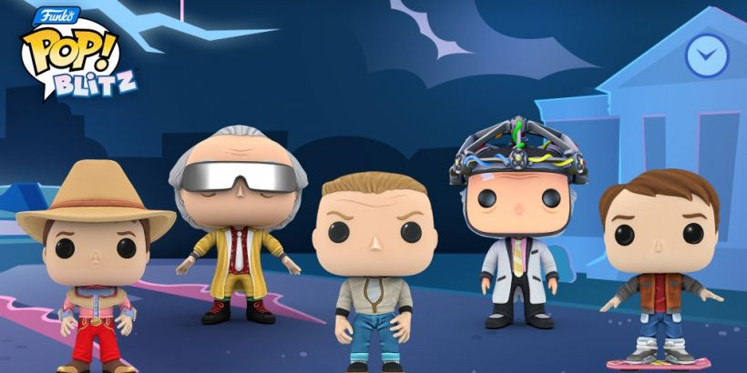 Funko Pop! Blitz takes a trip through time as it sees the return of the Back to the Future event