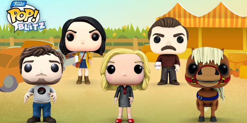 Parks & Recreation comes to match-3 puzzler Funko Pop! Blitz